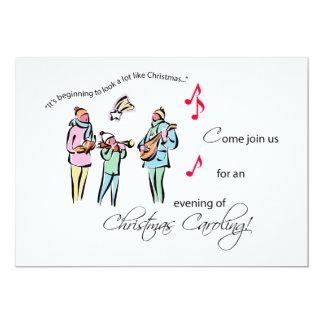 Invitation Christmas Caroling