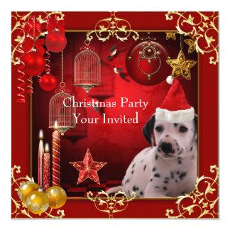 Invitation Christmas Party Xmas Dog Hat