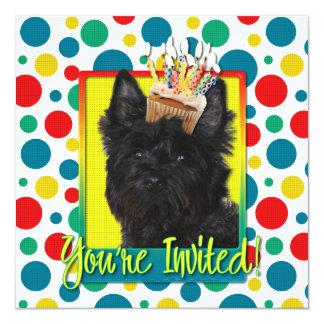 Invitation Cupcake - Cairn Terrier - Rosco