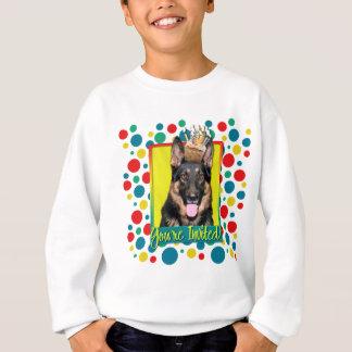 Invitation Cupcake - German Shepherd - Kuno Sweatshirt