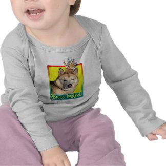 Invitation Cupcake - Siberian Husky - Copper T-shirts