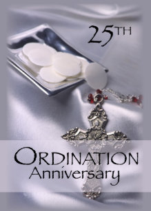 Ordination anniversary invitations announcements zazzle au invitation for 25th ordination anniversary stopboris Images