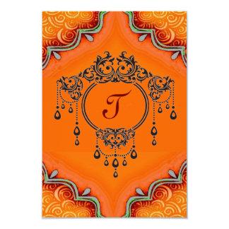 Invitation*henna Card