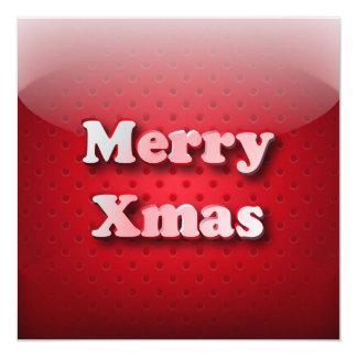 Invitation icon Merry Christmas