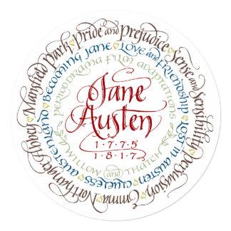 Invitation - Jane Austen Period Drama Adaptations