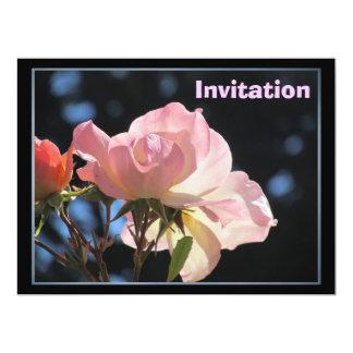 Invitation - Light Pink Rose