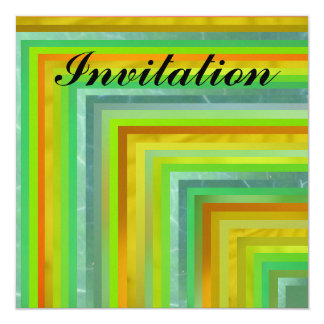 Invitation - Lime and Yellow - Multipurpose