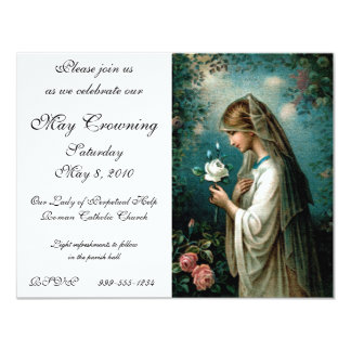Invitation: Mystical Rose Card
