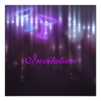 Invitation Purple Club