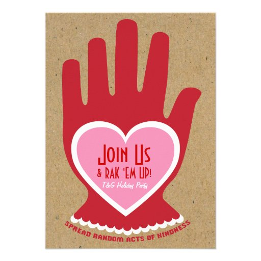 Invitation: Random Act of Kindness in Pink