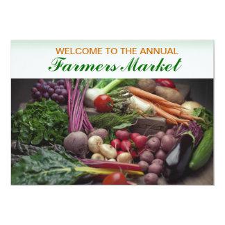 Invitation Template Fresh Produce