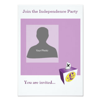 Invitation Template Independence Party