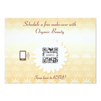 Invitation Template Organic Beauty
