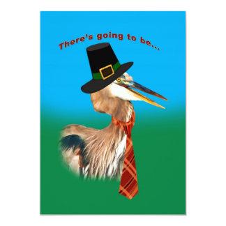 Invitation, Thanksgiving 13 Cm X 18 Cm Invitation Card