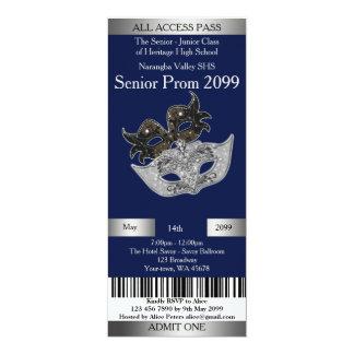 Invitation Ticket Prom Trend,Masquerade,easy DIY