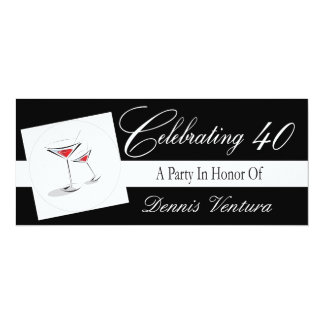 Invitation to a 40th Birthday Party