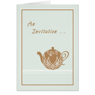 Invitation to an Afternoon of Tea