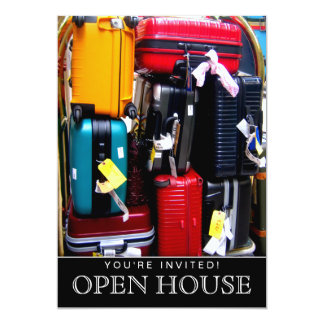 Invitation Travel Open House