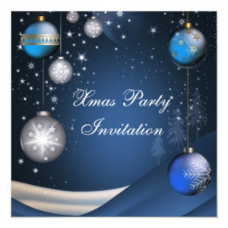 Invitation Xmas Christmas Party