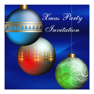 Invitation Xmas Christmas Party Announcements