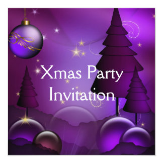 Invitation Xmas Party Christmas