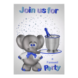 Invitations For Farewell Party