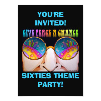 INVITATIONS - SHADES OF THE SIXTIES