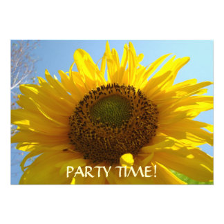 INVITATIONS SUNFLOWERS Party Time Parties Invites