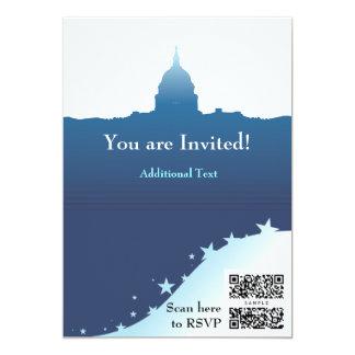 Invite Template Political US Capital