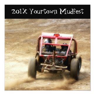 Invite to  Mudfest dirty Dunebuggy 4x4 racing