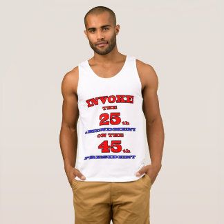 Invoke The 25th Amendment On The 45th President Singlet