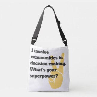 Involve Communities Superhero Bag