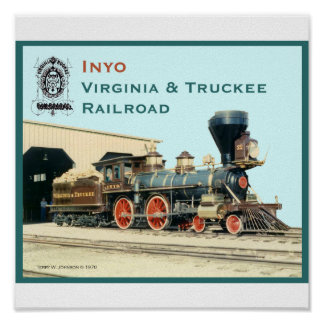 Inyo- Virginia and Truckee Railroad print