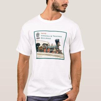 Inyo-Virginia and Truckee Railroad t-shirt white