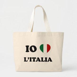 Io Amo Italia Canvas Bags