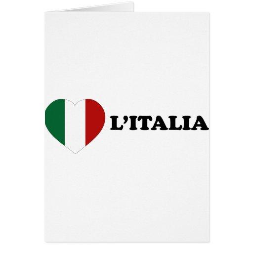 Io Amo Italia Cards