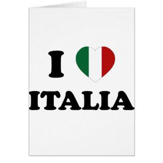 Io Amo Italia Greeting Card