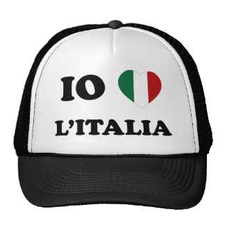 Io Amo Italia Mesh Hats