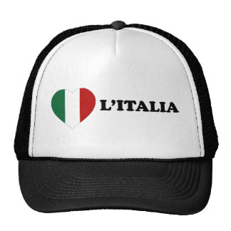 Io Amo Italia Hats