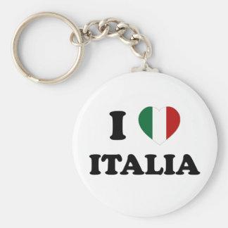 Io Amo Italia Key Chains