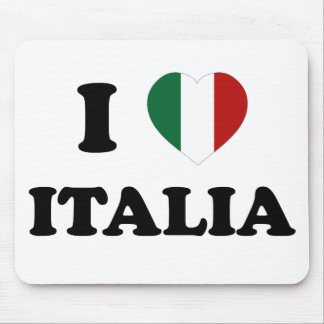 Io Amo Italia Mouse Pad