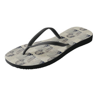 """Iodine"" Collection Unisex Flip Flops"