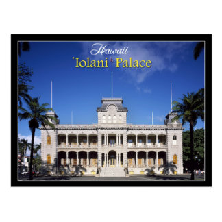 Iolani Palace in Honolulu, Hawaii Postcard