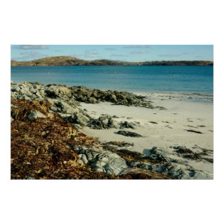 iona beach Scotland Poster