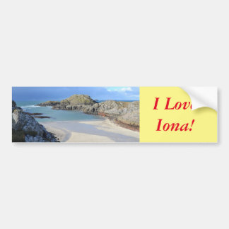 Iona Bumper Sticker