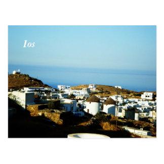 Ios island postcard