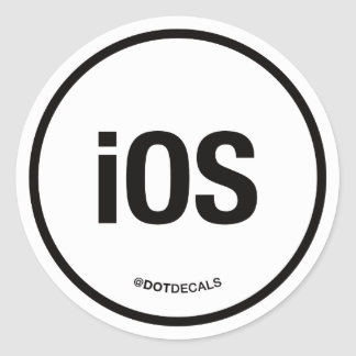 iOS Sticker
