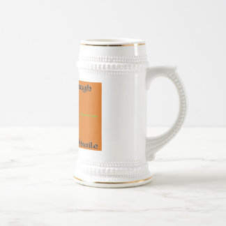 Iosa go Braugh Root Beer Stein Coffee Mug