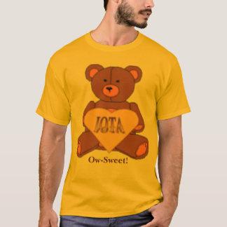 Iota Sweetheart Bear Logo, Ow-Sweet! T-Shirt
