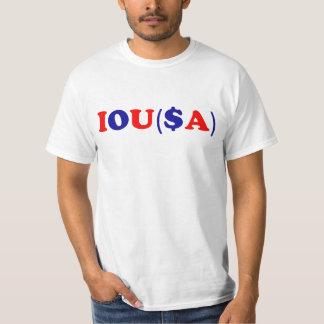 IOU(SA): Gov't Debt Ceiling Tshirts